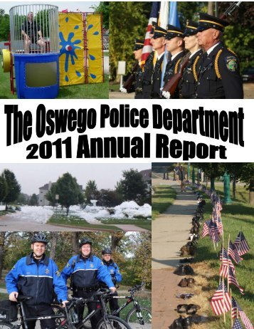2011 Annual Report Draft 2-21-12 - Oswego Police Department
