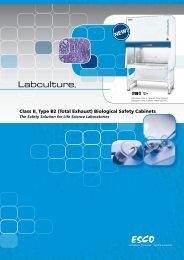 Biological Safety Cabinets - Esco Labculture