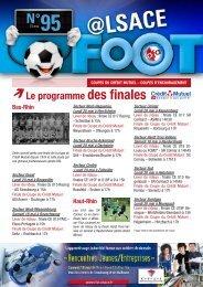 Alsace foot du 15 mai 2013