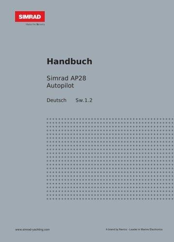 Handbuch - Simrad Professional Series - Simrad Yachting
