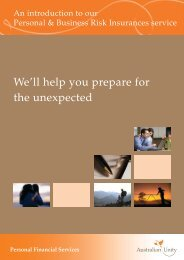 An introduction to our Personal & Business Risk Insurance service