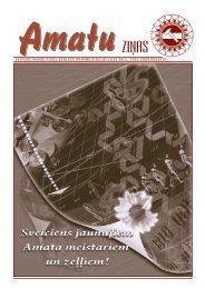 Amatu ziņas augusts 2009.pdf - Latvijas Amatniecības kamera