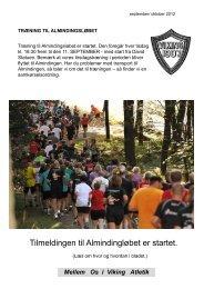 Mellem Os Sep 12 - Viking Atletik