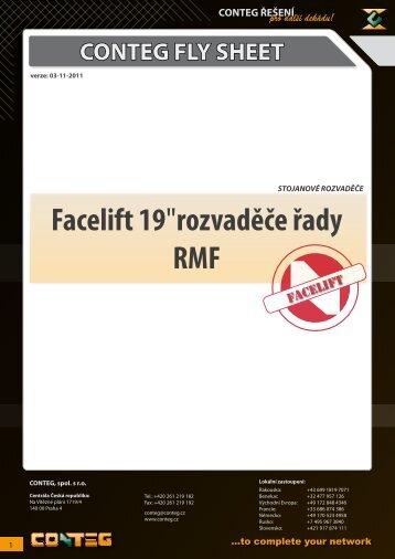 """Facelift 19""""rozvaděče řady RMF - Conteg"""