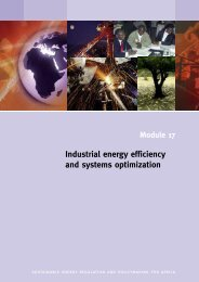 Industrial energy efficiency and systems optimization