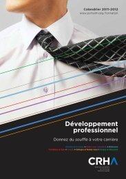Développement professionnel - Portail de l'Ordre des conseillers en ...