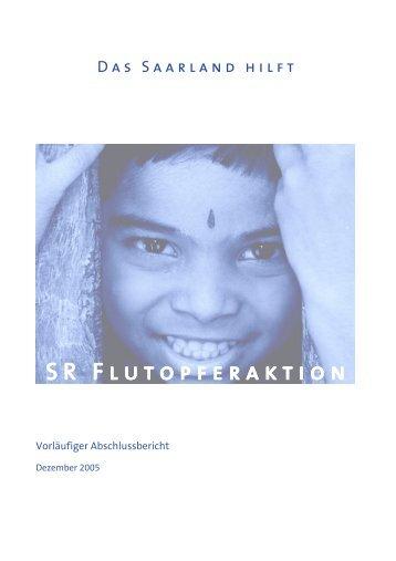 SR-Flutopferaktion - Saarländischer Rundfunk