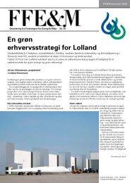 En grøn erhvervsstrategi for Lolland - Energiforum Danmark