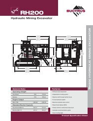 Hydraulic Mining Excavator R H 2 0 0 H Y D R A U L IC M IN IN ...