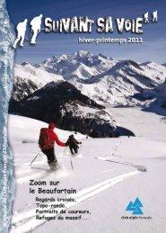Suivant Sa Voie n°74 - Club Alpin Francais - Albertville - Free