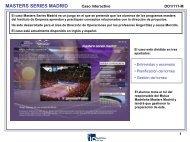 masters series madrid - IE. Multimedia Documentation