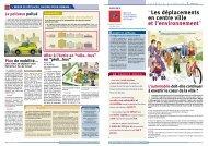 """""""Les déplacements en centre ville et l'environnement"""" - Espace Info ..."""