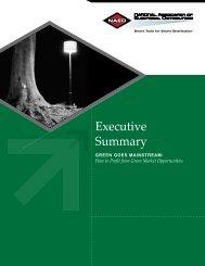 Executive Summary - Green Build Consulting
