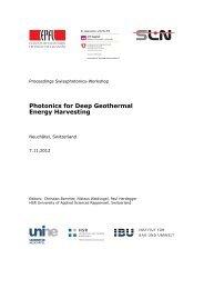 Photonics for Deep Geothermal Energy Harvesting - IBU - Institut für ...