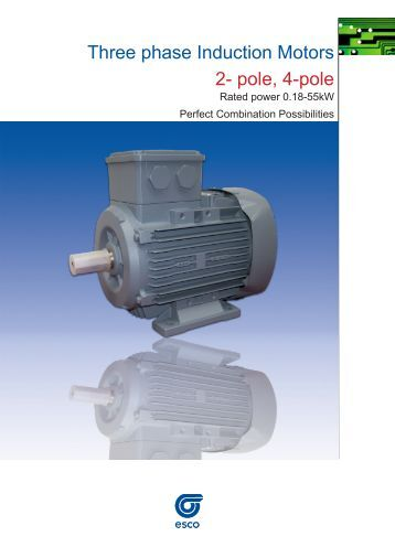 Twin dis for Three phase four pole ac induction motor