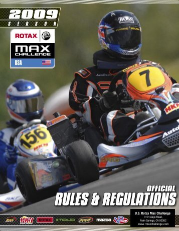hierarchy of rules - Red Line Oil Karting Championships
