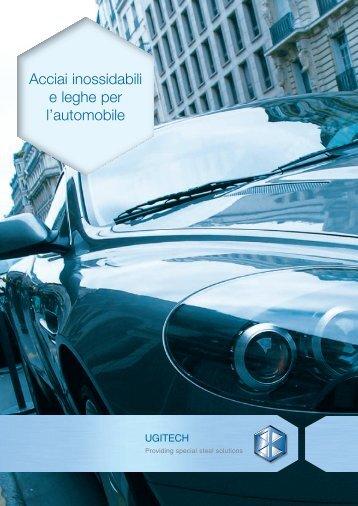 Acciai inossidabili e leghe per l'automobile - Schmolz + Bickenbach ...
