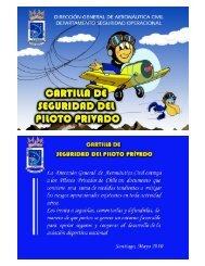 Cartilla de seguridad del piloto privado - DGAC