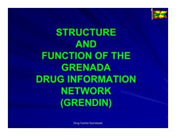STRUCTURE AND FUNCTION OF THE GRENDIN - cicad