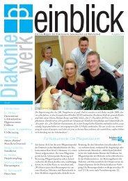 Ausgabe 01/11 - Evangelische Kliniken Gelsenkirchen GmbH