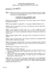 Decreto n. U00183 del 09/05/2013 - Regione Lazio