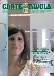 n. 2 - giugno 2010 - CIR Food