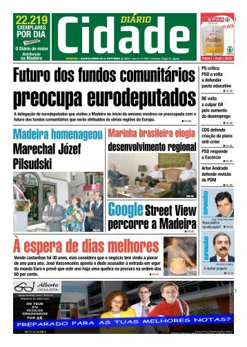 Futuro dos fundos comunitários - Cidade NET