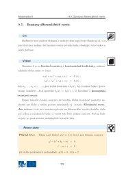Soustavy diferenciálních rovnic