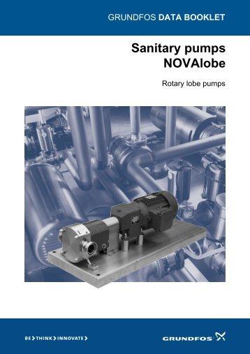 Sanitary pumps NOVAlobe