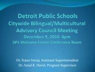 Dr. Frano Ivezaj, Assistant Superintendent Dr. Amal K. David ...
