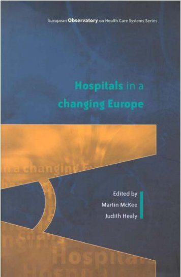 EN: Hospitals in a changing Europe - World Health Organization ...
