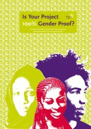 Is Your Project 100% Gender Proof? - Rutgers WPF