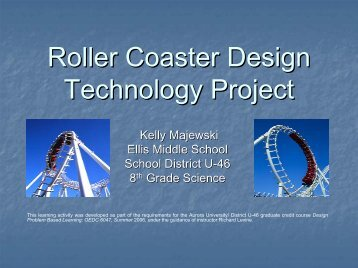 Roller Coaster Project - Cool Lessons Wiki
