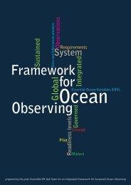 Framework for Ocean Observing - OceanObs'09