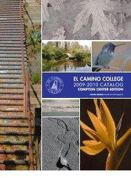 El Camino College 2009-2010 Catalog - Compton Center Edition