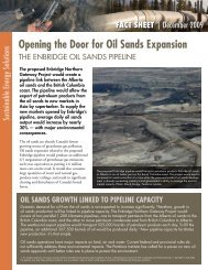 opening the door for oil sands expansion - Circle of Blue