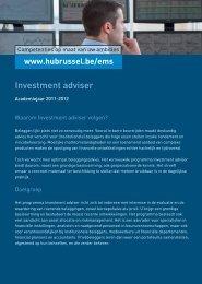 Investment adviser - HUBRUSSEL.net