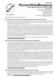 Info EN 2007-03 en - Wir sind Kirche