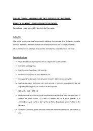 guia de uso del vernakalant en el servicio de urgencias