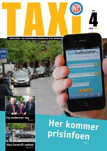 TAXI nr 4 - Norges Taxiforbund