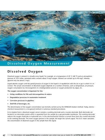 Dissolved Oxygen Dissolved Oxygen ... - Fenno Medical Oy