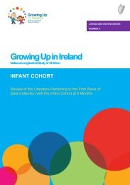 Literature Review - 9-Month-Olds - ESRI