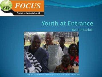 Youth At Entrance