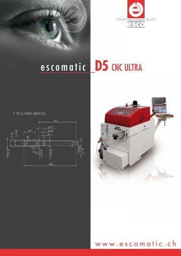 escomatic D5 - Tornos