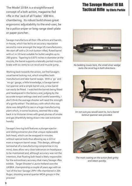 MaY 2012 Issue - Target Shooter Magazine