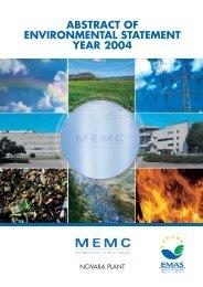 MEMC_NO_04_ingl REV 04-06 - MEMC Electronic Materials, Inc.