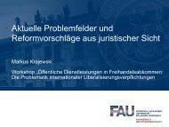 Aktuelle Problemfelder und Reformvorschläge aus ... - Renner Institut