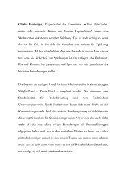 Stellungnahme Verheugen Plenum