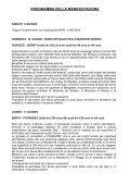 programma della manifestazione - Page 2