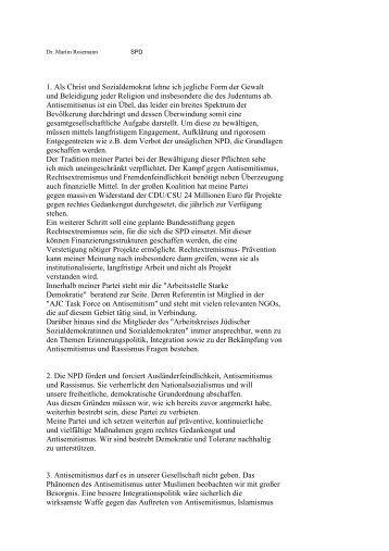 Dr. Martin Rosemann - Jüdische Gemeinde zu Berlin